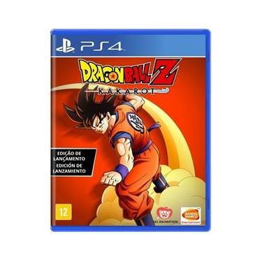 Jogo Midia Fisica Dragon Ball Z Kakarot Namco pra Ps4