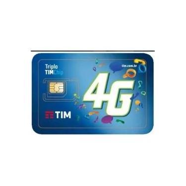Chip 4g Tim - Triplo Corte