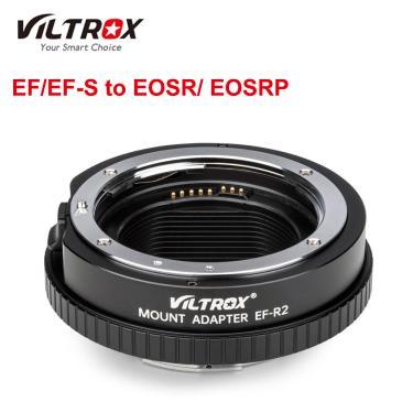 Imagem de Viltrox-adaptador de lente de câmera com foco automático, adaptador para canon ef/argolas para eos