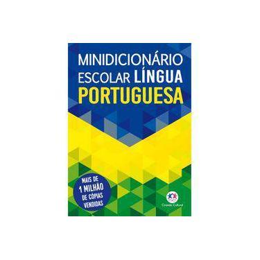 Minidicionário escolar língua portuguesa - Ciranda Cultural - 9788538067245
