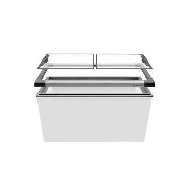 Freezer Horizontal NF40 Tampa De Vidro Para Sorvetes E Congelados 388 Litros - Metalfrio NEXT GEN