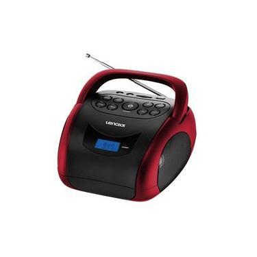 Boombox Bluetooth 4W SD Vermelho Bivolt - Lenoxx BD150