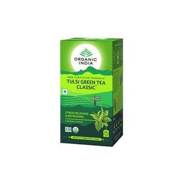 Chá Verde Tulsi 25 Sachês - Organic India