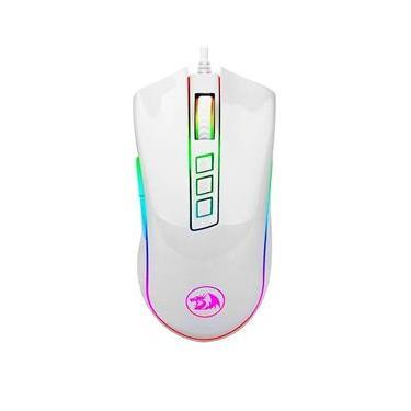 Imagem de Mouse Redragon, Cobra, M711W, RGB Chroma, 10000dpi, Branco