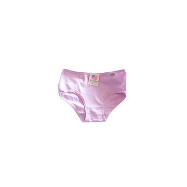 Cor doces confortáveis de algodão Ladies Calcinhas 6 Pack roxo