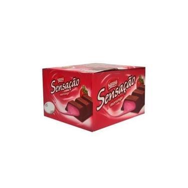Sensação Morango C/24 Nestle