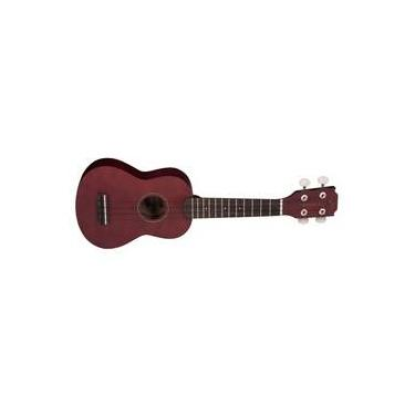 Ukulele Ac-Stico Vogga Vuk303 Soprano Brown Coffee Fosco