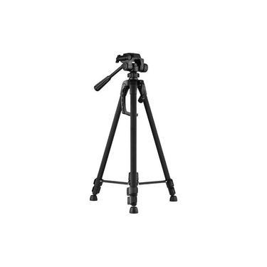 Imagem de Tripé Câmera Universal Fotográfico Profissional Nikon Canon 1,80 Mt Com Nívelador