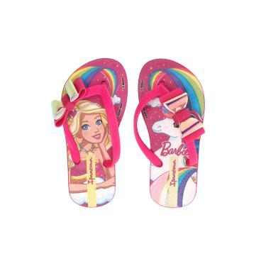a6fe7b4c7 Sandália Ipanema Kids Barbie Fantasia Rosa Ipanema Kids 26213 menina