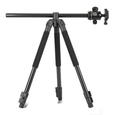 Tripé Profissional Horizontal Câmeras Q308H Qzsd Filmadora