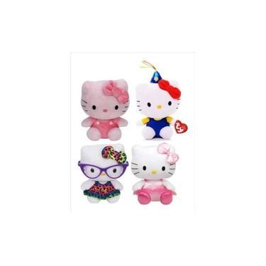 Imagem de Coleção Hello Kitty Com 4 Pelúcias - Dtc Presente De Natal