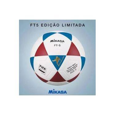 Bola De Futevolei Mikasa Original Ft5 - Branco 8b95d12e6e67e