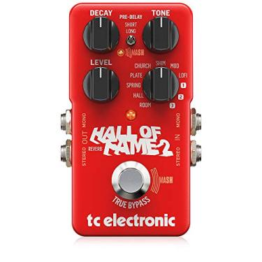 Pedal Reverb para Guitarra Hall Of Fame 2 Tc Electronic