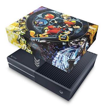 Capa Anti Poeira para Xbox One Fat - Kingdom Hearts