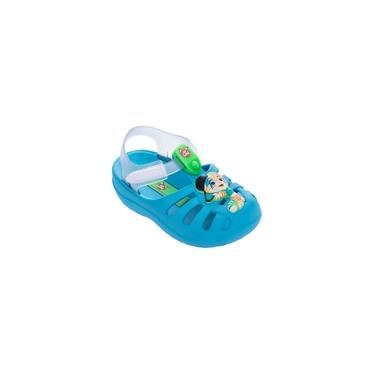 Sandália Infantil Bebê Grendene Kids 44 Gatos Azul