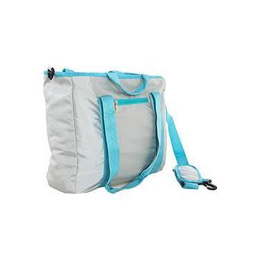 Tote Bag Esportiva TB-CU-GY-02 Moovi Cinza e Azul