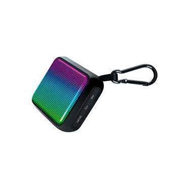 Caixa de Som Bluetooth Isound Durawaves Glow Preta