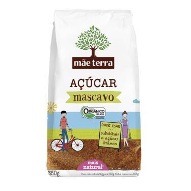 Açúcar Mascavo Orgânico Integral 400gr - Mãe Terra