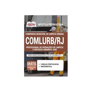 Imagem de Apostila COMLURB-RJ 2021 - Gari