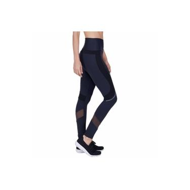 Legging Alto Giro Athletic com Silk Refletivo