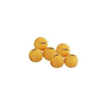 Bolas p/ Ping Pong 40mm (6 unid) - Nautika