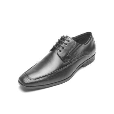 Sapato Couro Ferracini Conforto Preto Ferracini 4058-281G masculino