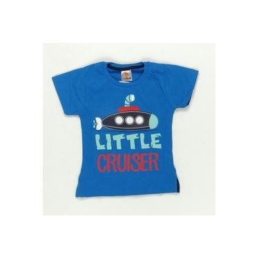 Camiseta Little Cruiser Azul - ByGus