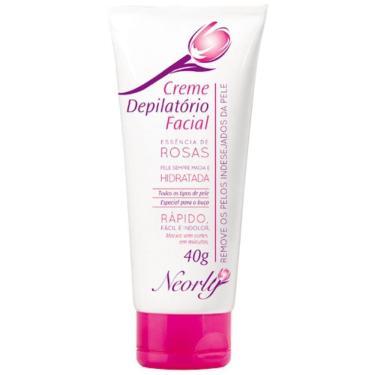 Creme Depilatório Facial Neorly Rápido 40G (Rosa)
