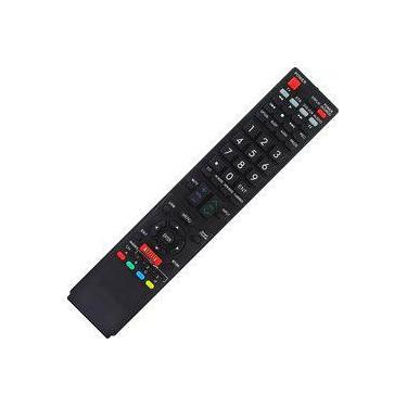 Controle Remoto Tv Led Sharp Aquos Lc-50le650 Netflix 11176
