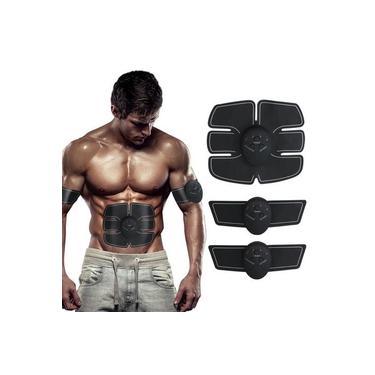 Imagem de Aparelho Estimulador Muscular Tonificador Elétrico EMS 2 Braços Mais 1 Abdômen - Smart Fitness Body