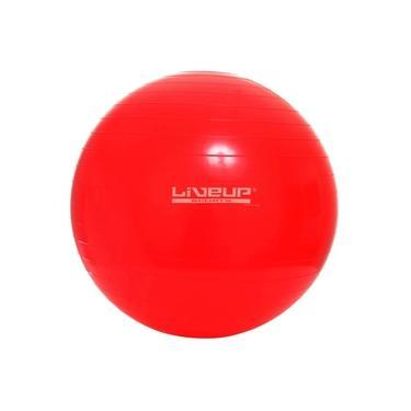 Bola Suíça Para Pilates LS3221 45 Cm Vermelho Liveup Sports