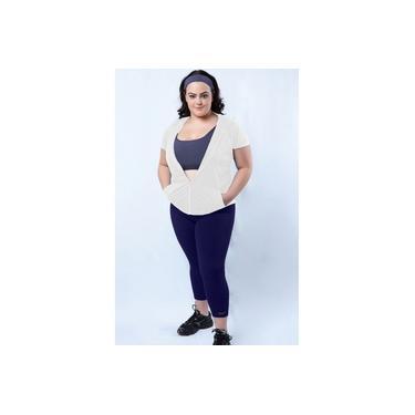 Imagem de Legging fitness básica plus size-Marinho