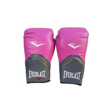 91530cb21f74a Luva de Boxe   Muay Thai Feminina 14oz - Rosa - Pro Style - Everlast