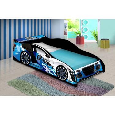 5dc9e11b9e Cama Carro Drift Solteiro Azul