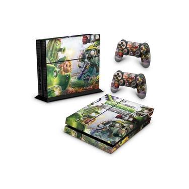 Skin Adesivo para PS4 Fat - Plants Vs Zombies Garden Warfare