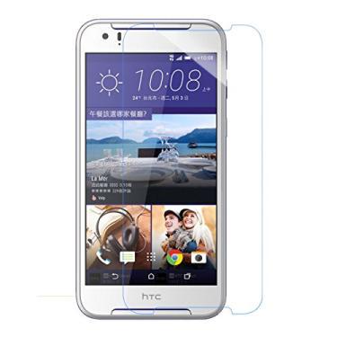 [2 unidades] Película protetora de tela para HTC Desire 830, vidro temperado transparente, protetor de tela resistente a arranhões para HTC Desire 830 de 5,5 polegadas