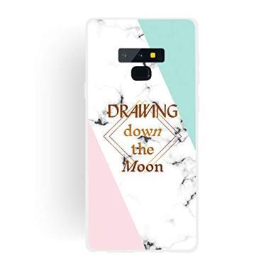 Capa Grandcase para Galaxy Note 9, ultrafina, gel de silicone [design de mármore] capa de proteção TPU macia com absorção de choque para Samsung Galaxy Note 9 de 6,5 polegadas – Chasing Dreams
