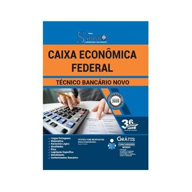 Imagem de Apostila Técnico Bancário Caixa Econômica Federal - Cef