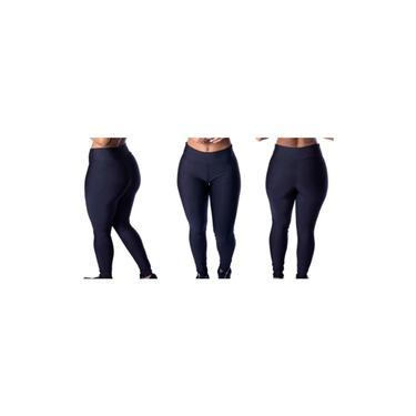 Imagem de Kit 2 Roupas De Academia Fitness Feminino Calça Legging