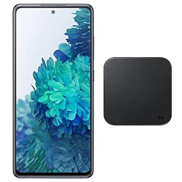 """Imagem de Samsung Galaxy S20 FE (128 GB, 6 GB) 6.5"""" 120Hz AMOLED, Snapdragon 865, IP68 Resistente à água, Dual SIM GSM Desbloqueado (Global 4G LTE) International Modelo SM-G780G / DS (Wireless Charger Bundle, da Marinha)"""