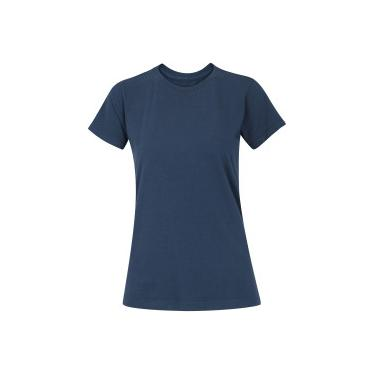 842a398467 Camiseta Adams Básica Futebol - Feminina - AZUL ESCURO Adams