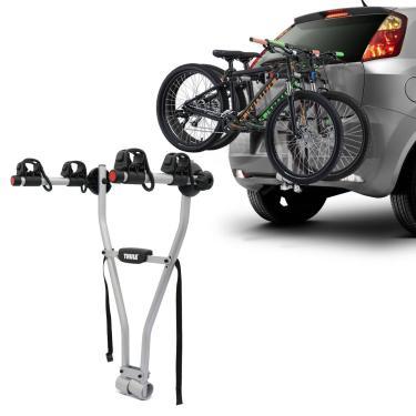 Suporte Transbike 2 Bicicletas Engate Thule Xpress 970 Prata Suporta 30KG Universal
