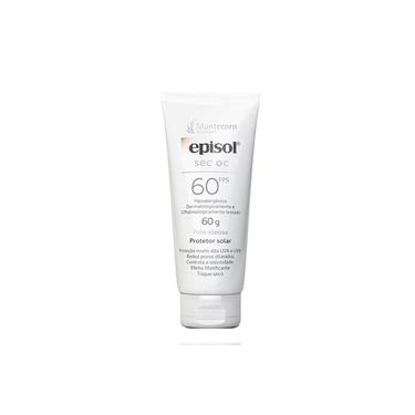 Protetor Solar Facial Episol SEC OC FPS 60 - Mantecorp Skincare