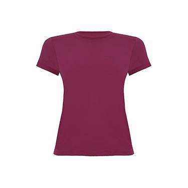 Camiseta Silver Fresh Feminina com Proteção Solar 50 Uva Manga Curta Curtlo