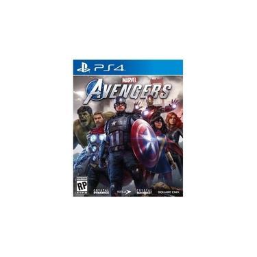 Jogo Marvels Avengers PS4 Blu-ray Enix Marvels Playstation 4 SE000213PS4