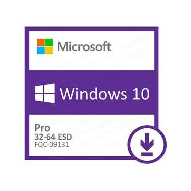 Sistema Operacional Windows 10 Pro ESD 32/64 Bits FQC-09131 - Download
