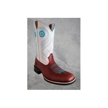 Bota Masculina Red Dust Fóssil Sela/creme Bc05