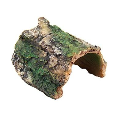 Imagem de Caixa de esconderijo de réptil OMEM, aranha, escorpião réptil esconde e cavernas decoração de habitat, Imitação Latido Resina Escondido Ninho tartaruga suprimentos