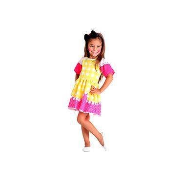 Imagem de Fantasia Infantil Lalaloopsy C. Sugar Cookie Pop - Sulamericana