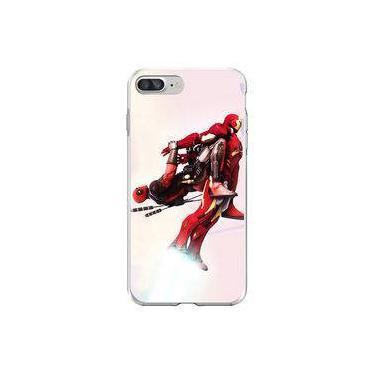 Capa para iPhone 8 Plus - Mycase   Deadpool e Homem de Ferro